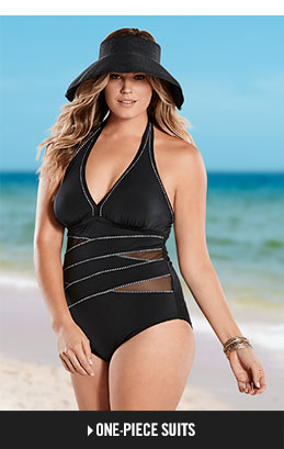 women's plus size swimwear, swimsuits & bathing suits | venus