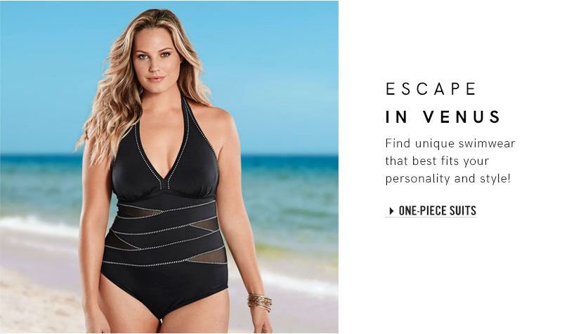 Women's Plus Size Swimwear, Bikinis & Bathing Suits | VENUS