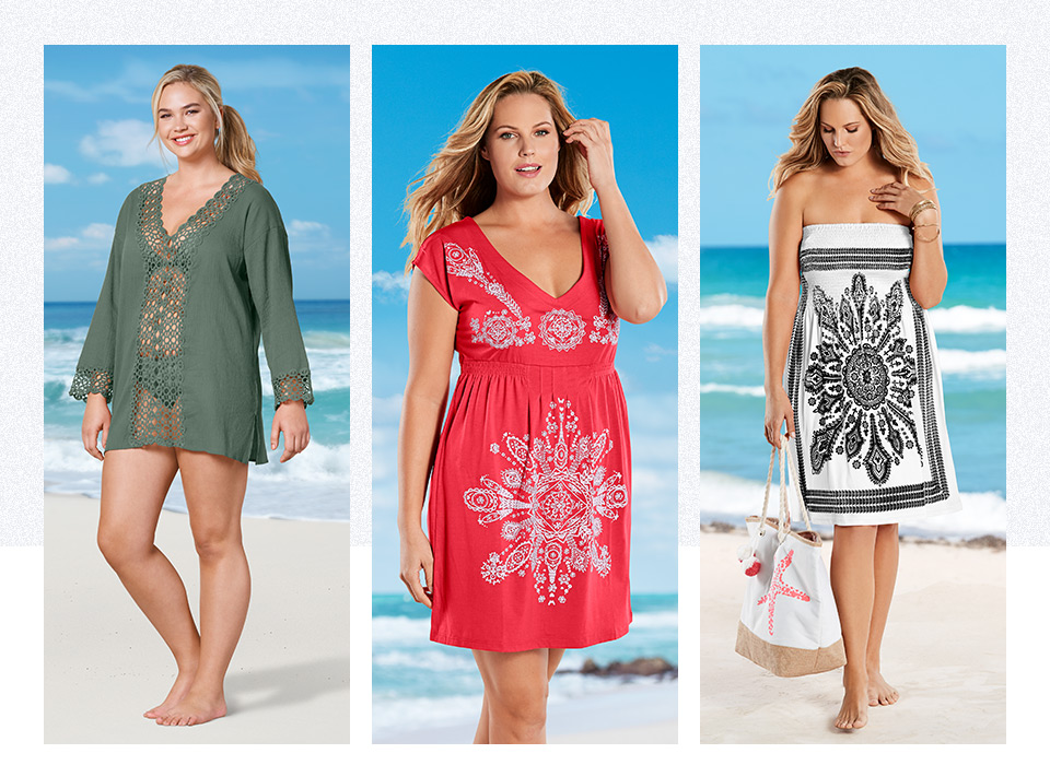 Discover our plus size cover-ups just in time for summer!