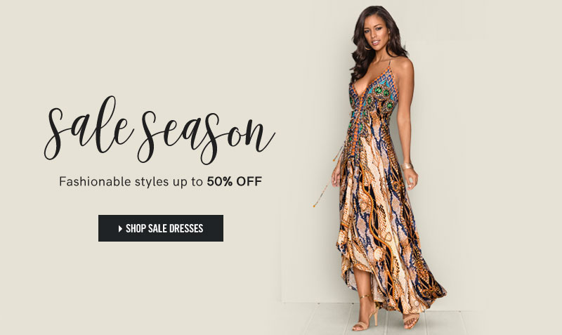 Sale Season. Shop styles up to 50% off!
