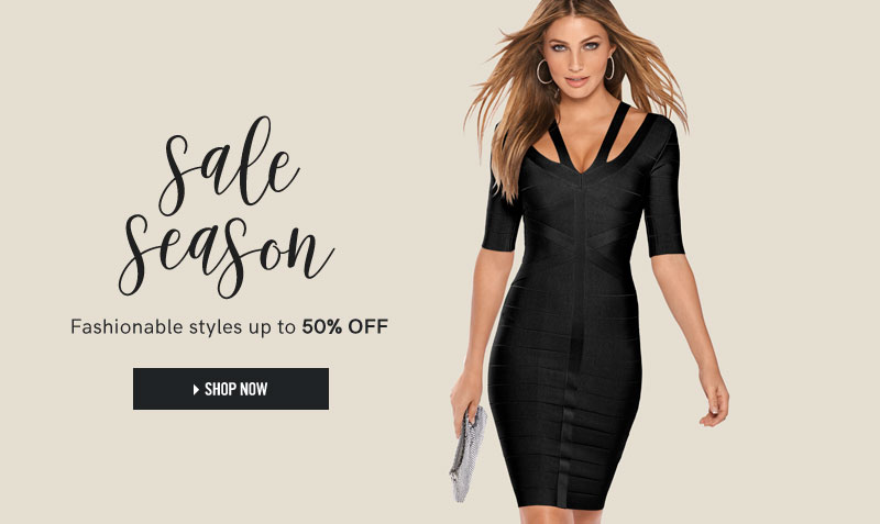 Sale season. Fashionable styles up to 50% off. Shop now.