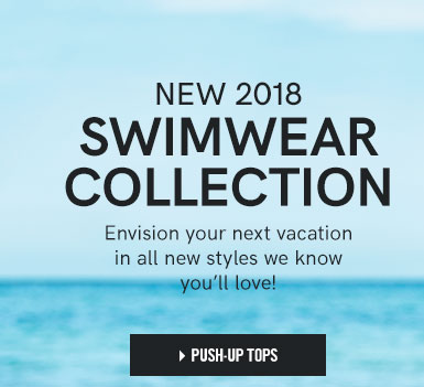 New 2018 Swimwear Collection. Envision your next vacation in all new styles we know you'll love!