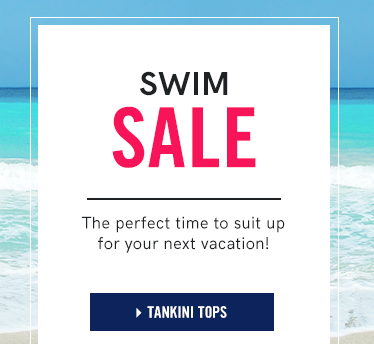 Swim Sale: The perfect time to suit up for your next vacation!