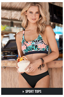 cfd61d7250 Browse our Sport bikini tops. Shop VENUS tankini style swimsuits.