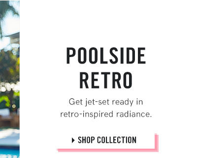 Go retro in far-out fashions for the pool!