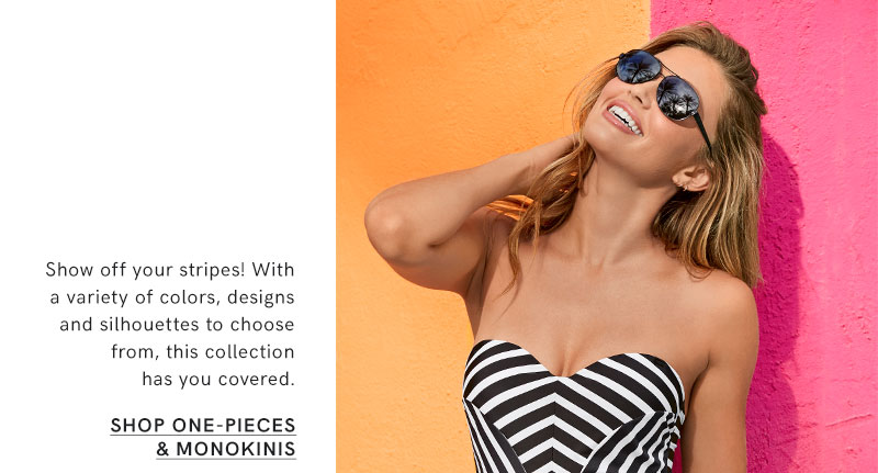 Discover one-piece and monokinis swimsuits on sale.