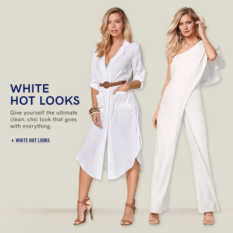 White Hot Looks: Give yourself the ultimate clean, chic look that goes with everything.