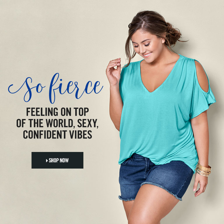 So fierce. Feeling on top of the world, sexy, confident vibes. Shop Tops starting at $12.99.