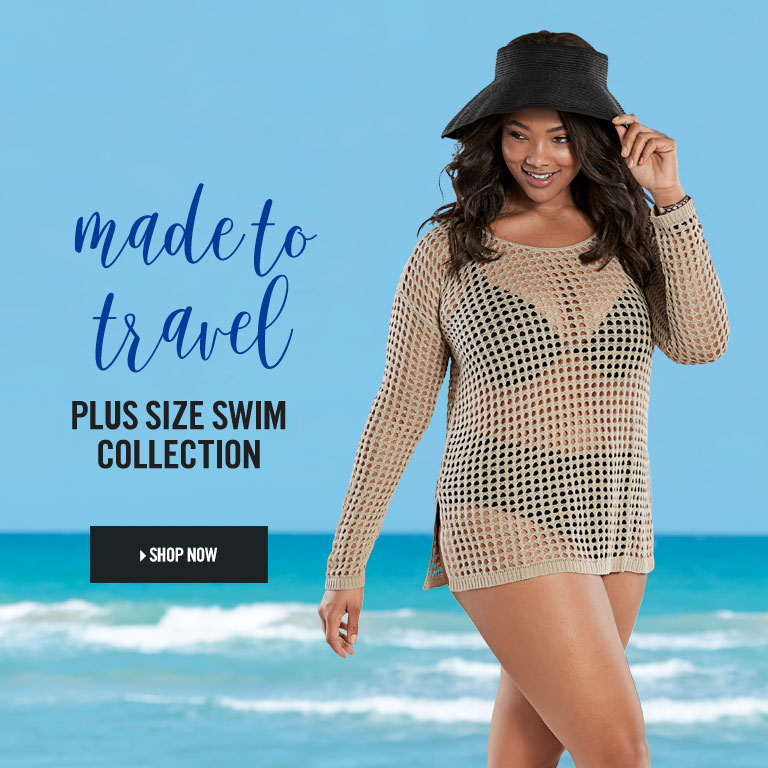 Spirited Plus Size Swim Collection.