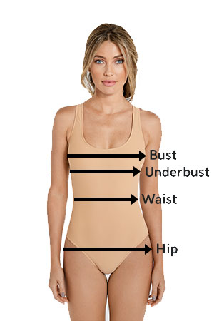 fc035ce23819c How to Measure Women s Swimwear and Clothing